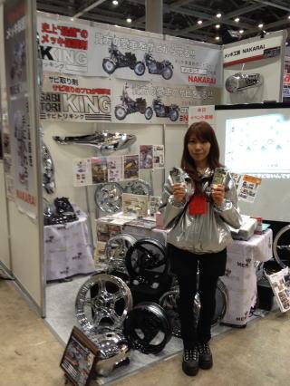 東京モーターサイクルショー出展